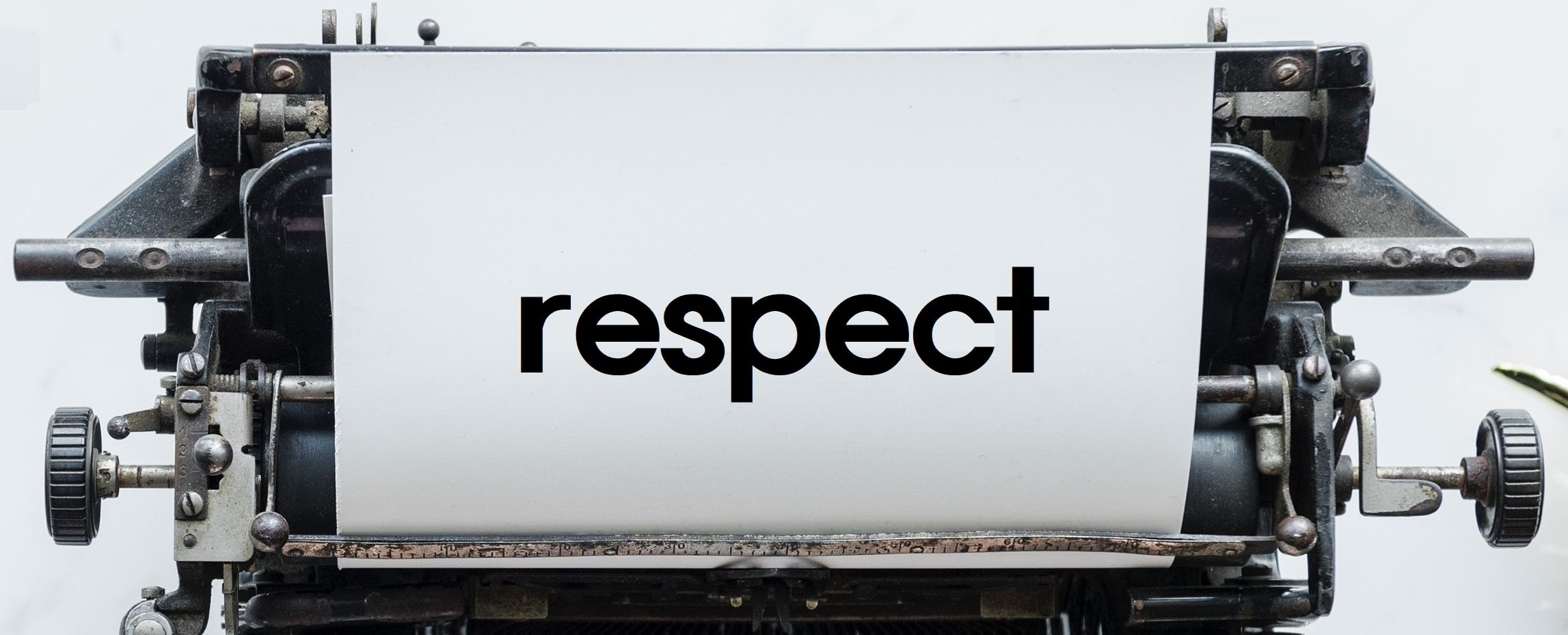 Respect – a foundational value